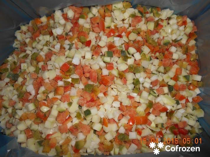 'Lecho' Vegetables Mix