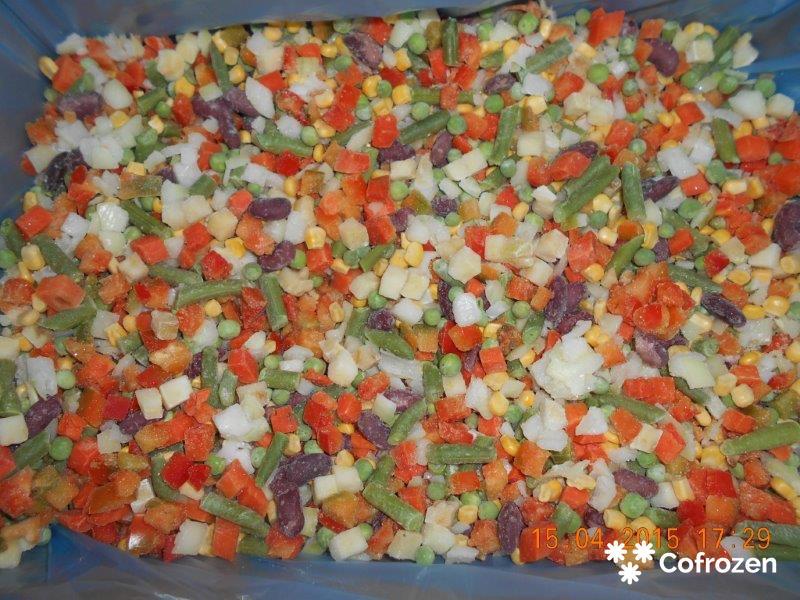 Mieszanka 'Meksykańska' warzywna z ryżem