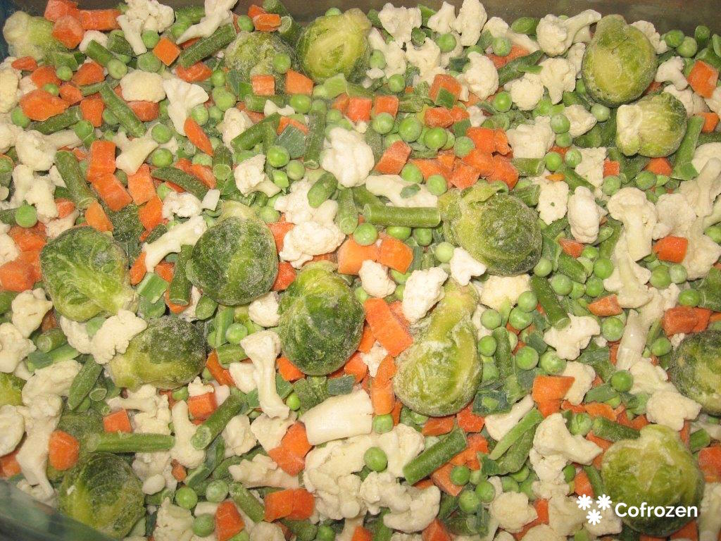 'Warzywa wiosenne' mieszanka warzywna